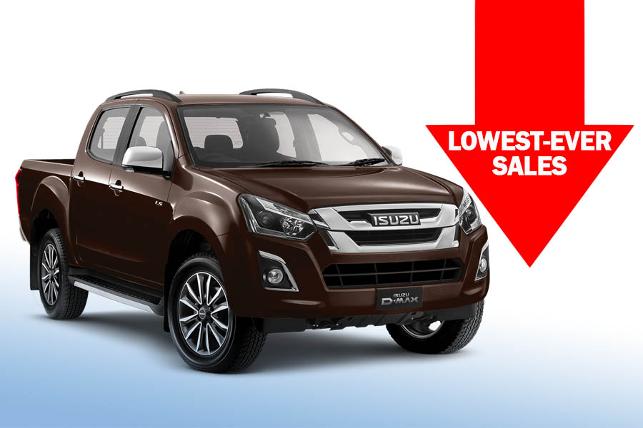 Isuzu D-MAX Recorded Lowest-Ever Sales in November 1