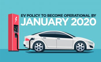 Government to Make EV Policy Operational by January 2020 6