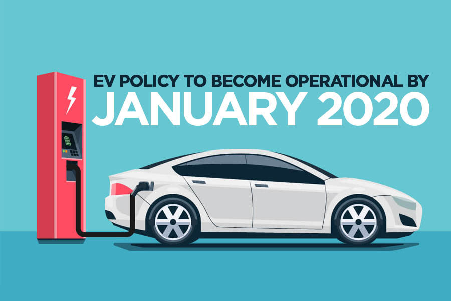 Government to Make EV Policy Operational by January 2020 5