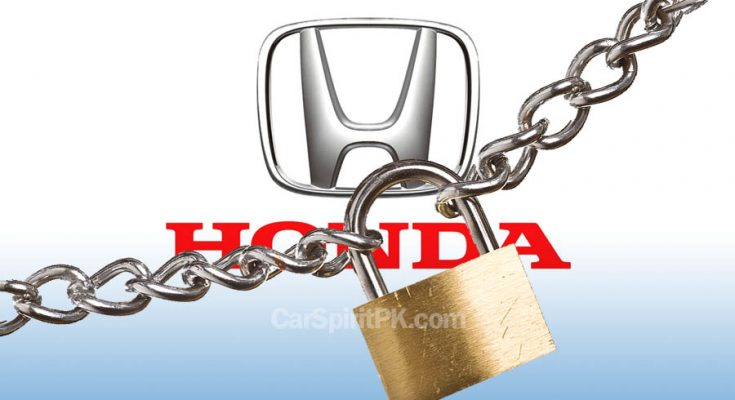 Honda Atlas Shut Down its Plant Indefinitely 1