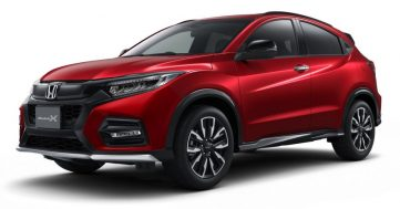 Honda Vezel (HR-V) Modulo X Launched in Japan 7