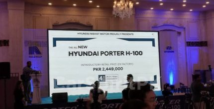 Hyundai-Nishat Launched Local Assembled Porter H-100 6