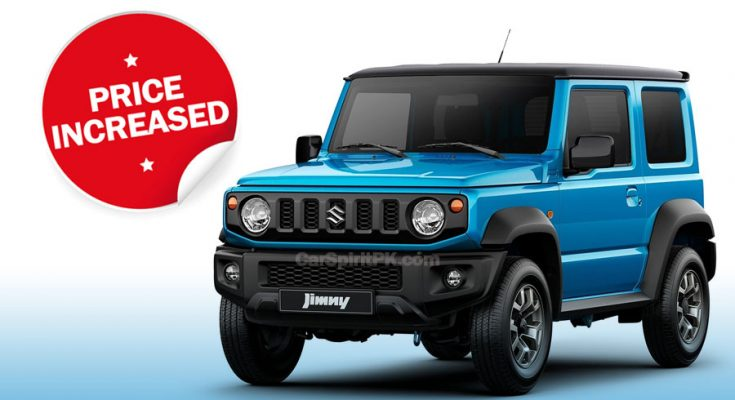 Pak Suzuki Increases Jimny Prices 1