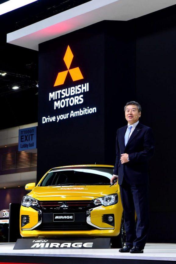 New Mitsubishi Mirage and Attrage Displayed at 2019 Thai Motor Expo 1