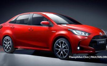 Next Generation Toyota Vios/ Yaris sedan Rendered 4