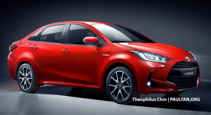 Next Generation Toyota Vios/ Yaris sedan Rendered 1