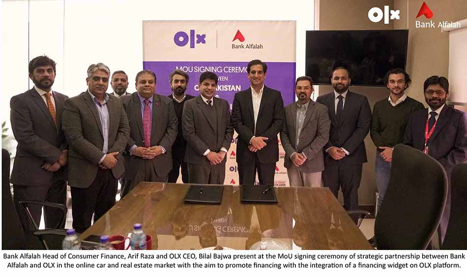 OLX and Bank Alfalah Partner to Promote Auto and Home Financing 1
