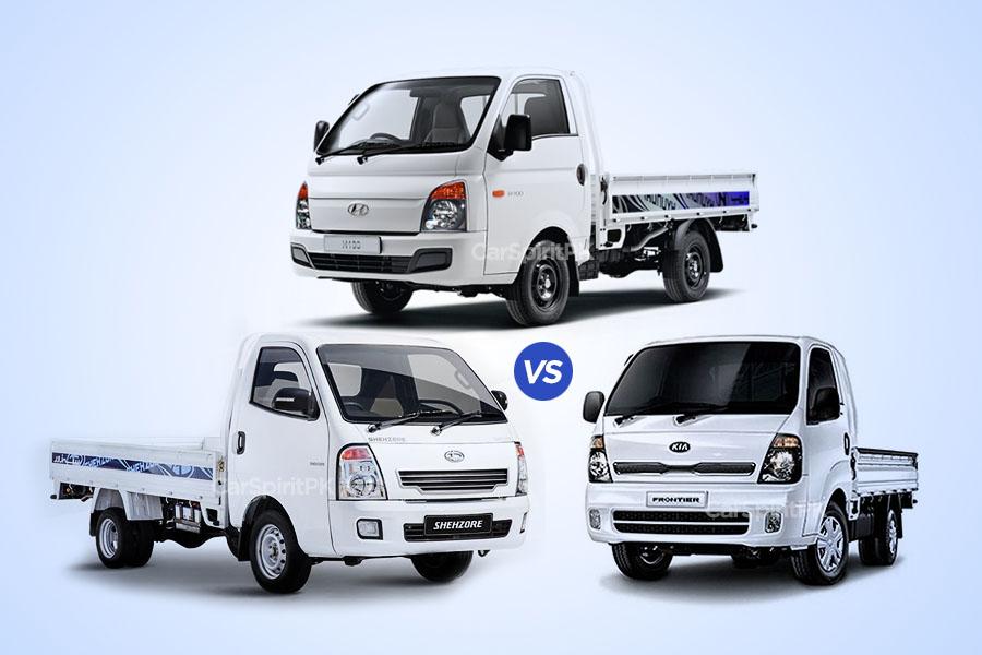 Hyundai Porter H100 Expensive than Kia Frontier and Daehan Shehzore 3