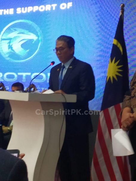 Malaysian PM's Gifted Proton X70 SUV Handed Over to Pakistan 3