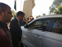 Malaysian PM's Gifted Proton X70 SUV Handed Over to Pakistan 5
