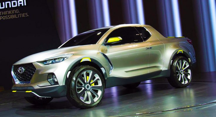 Spotted: Hyundai Readying the Santa Cruz Pickup Truck 1