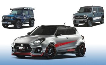 Suzuki to Showcase Swift Sport Katana Edition at Tokyo Auto Salon 14