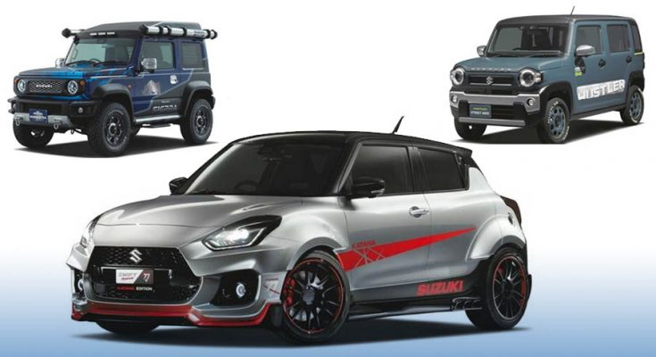 Suzuki to Showcase Swift Sport Katana Edition at Tokyo Auto Salon 1