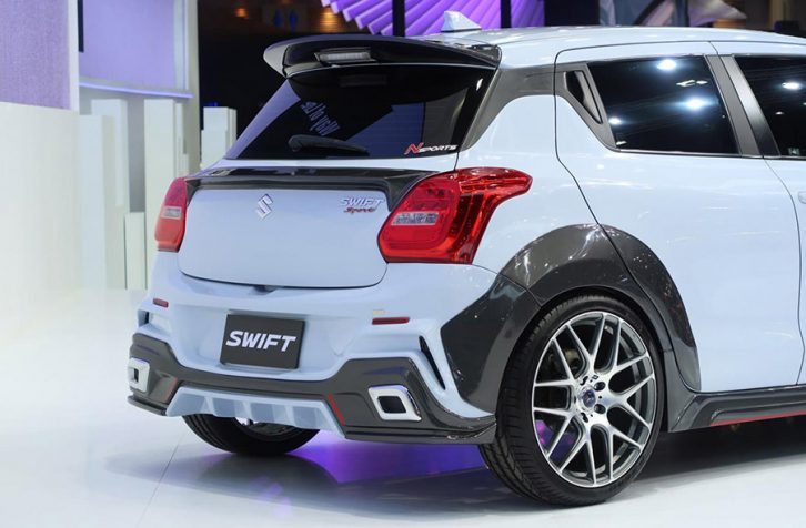 Suzuki Swift Extreme Concept at 2019 Thai Motor Expo 7