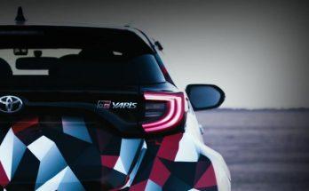 Toyota Teases the 2020 Yaris GR4 AWD 12