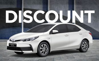 IMC Offering Huge Discounts on Toyota Corolla XLi 12