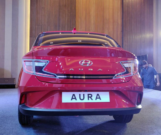 Hyundai Aura Launched in India Priced at INR 5.8 Lac 8