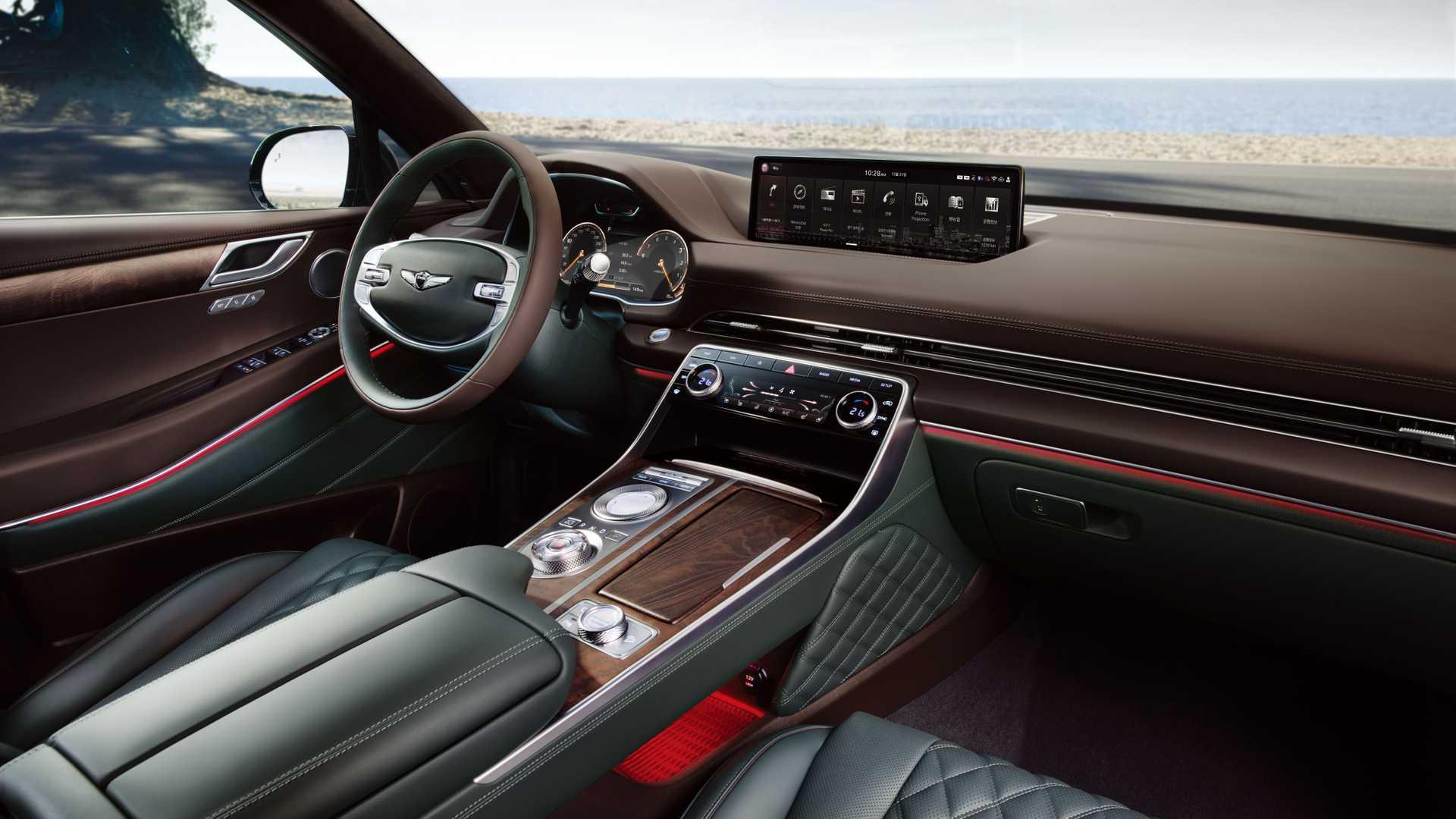 Hyundai Unveils GV80- First Genesis Luxury SUV 7
