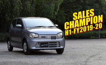Suzuki Alto- Sales Champion of H1-FY2019-20 4