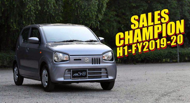Suzuki Alto- Sales Champion of H1-FY2019-20 2