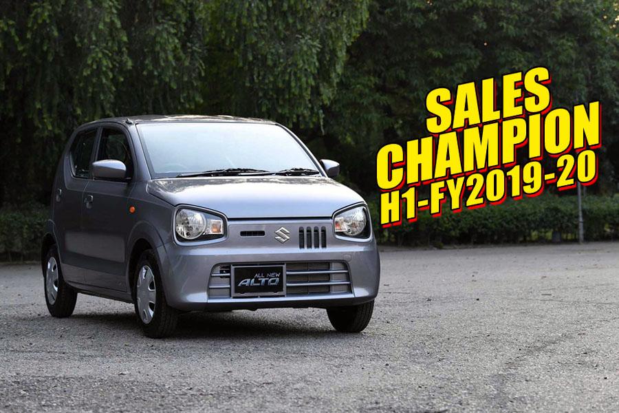 Suzuki Alto- Sales Champion of H1-FY2019-20 5
