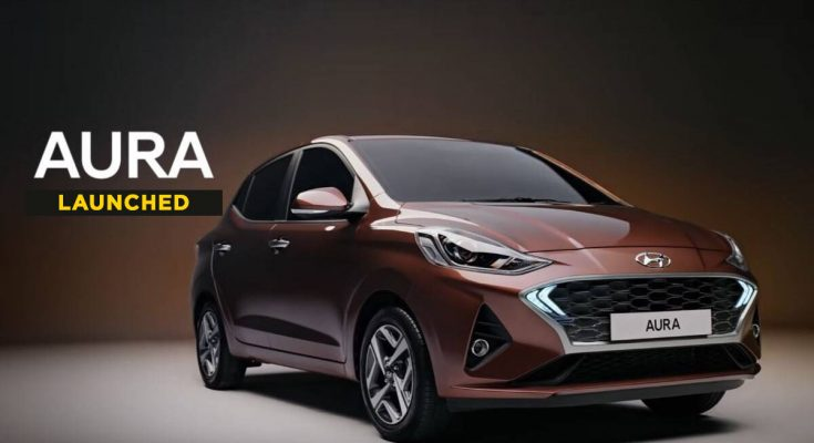 Hyundai Aura Launched in India Priced at INR 5.8 Lac 1