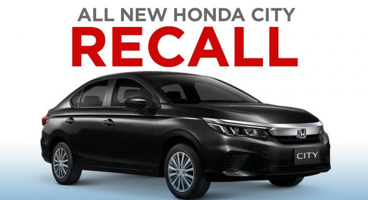 2020 Honda City Recalled In Thailand, Deliveries Halted 1