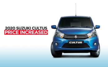 Pak Suzuki Increase Cultus VXL Prices 14