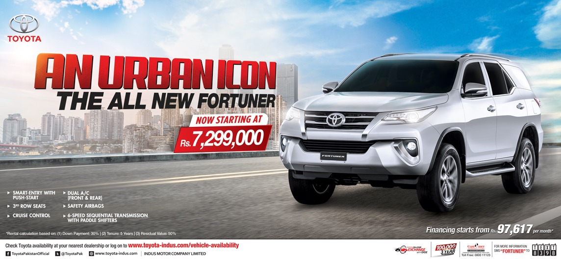 IMC Introduces New Base Variant of Toyota Fortuner SUV 2