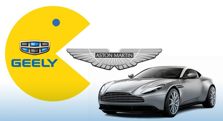 Geely in Talks to Acquire Stake in Aston Martin 2