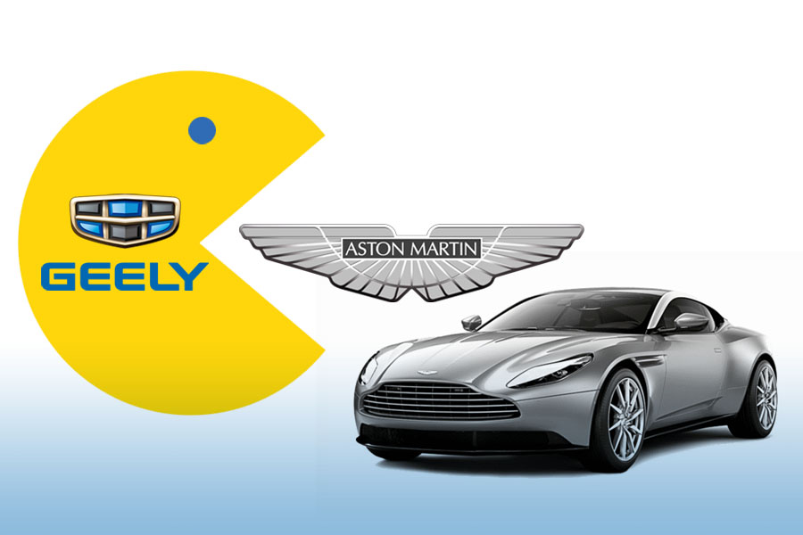 Geely in Talks to Acquire Stake in Aston Martin 1