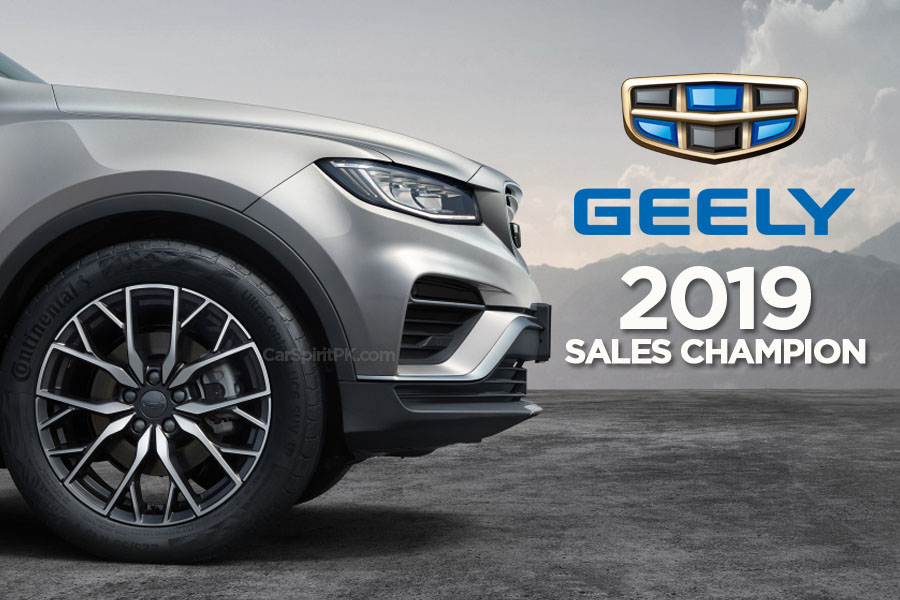 Geely Retain Sales Champion Title in China for Third Consecutive Year 7