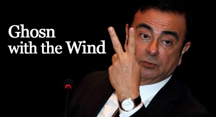 Ghosn with the Wind... How Former Nissan Chairman Escaped from Japan 2