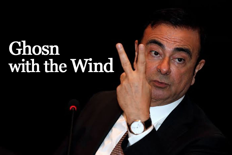 Ghosn with the Wind... How Former Nissan Chairman Escaped from Japan 10