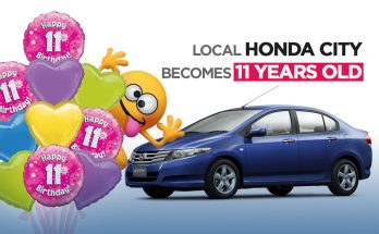 Local Honda City Becomes 11 Years Old 14