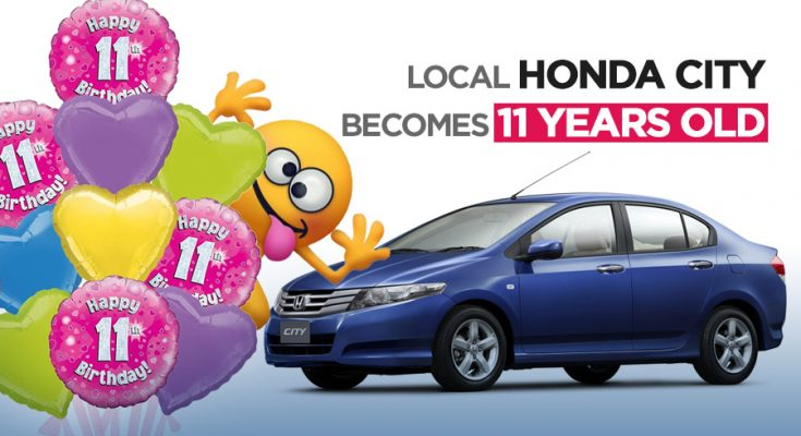 Local Honda City Becomes 11 Years Old 12
