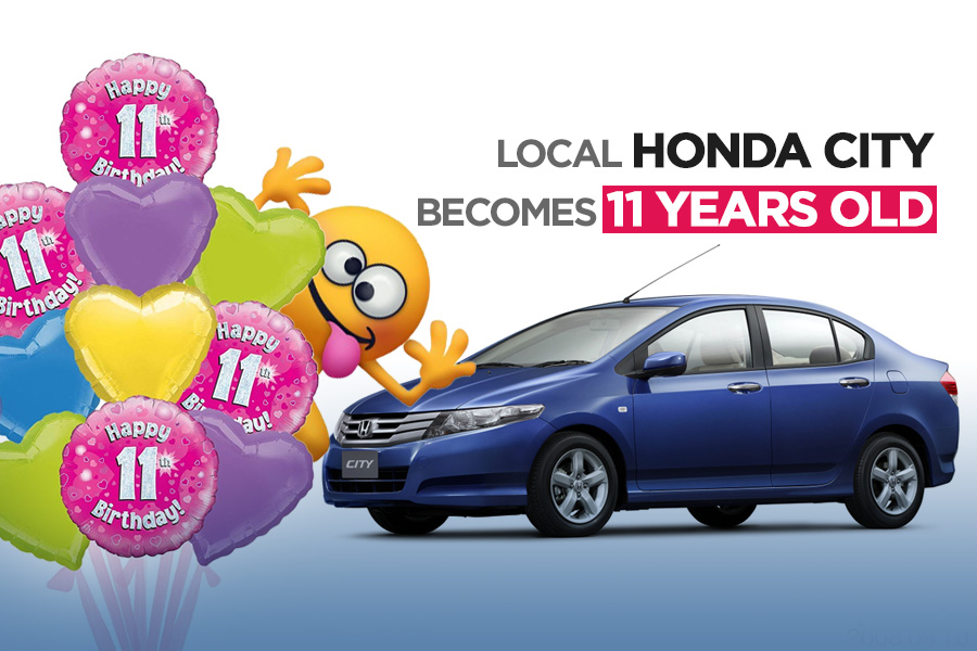 Local Honda City Becomes 11 Years Old 7