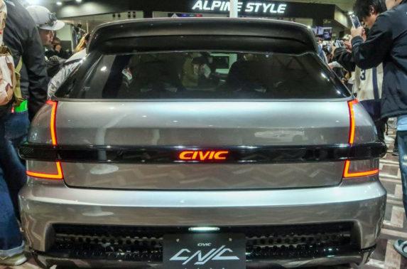 Honda S2000 20th Anniversary Prototype and EK9 Civic Cyber Night Japan Cruiser at 2020 Tokyo Auto Salon 13