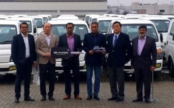 Fleet Handing Over Ceremony- 45 Units of Hyundai Porter H-100 Pickup Delivered to a Local Distributor Company 8