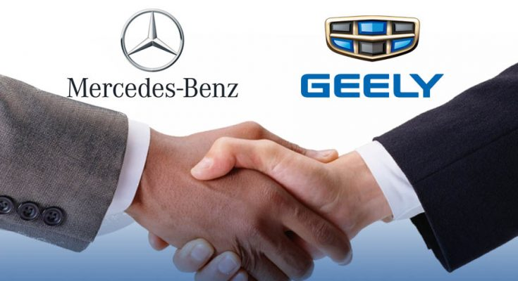 Mercedes-Benz and Geely Have Established Global Joint Venture 2