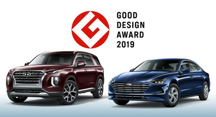Hyundai Sonata and Palisade Win 2019 GOOD DESIGN Awards 1