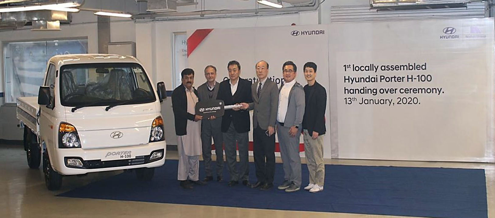 First Local Assembled Hyundai Porter Delivered to Customer 9