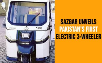 Sazgar Unveils Pakistan's First Electric 3-Wheeler 10