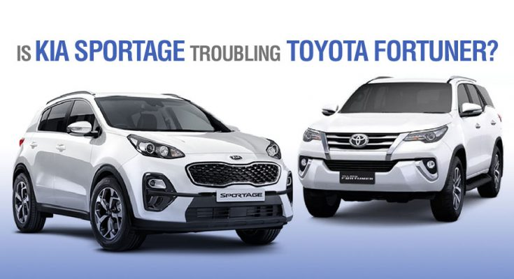 Is Kia Sportage Troubling Toyota Fortuner? 2