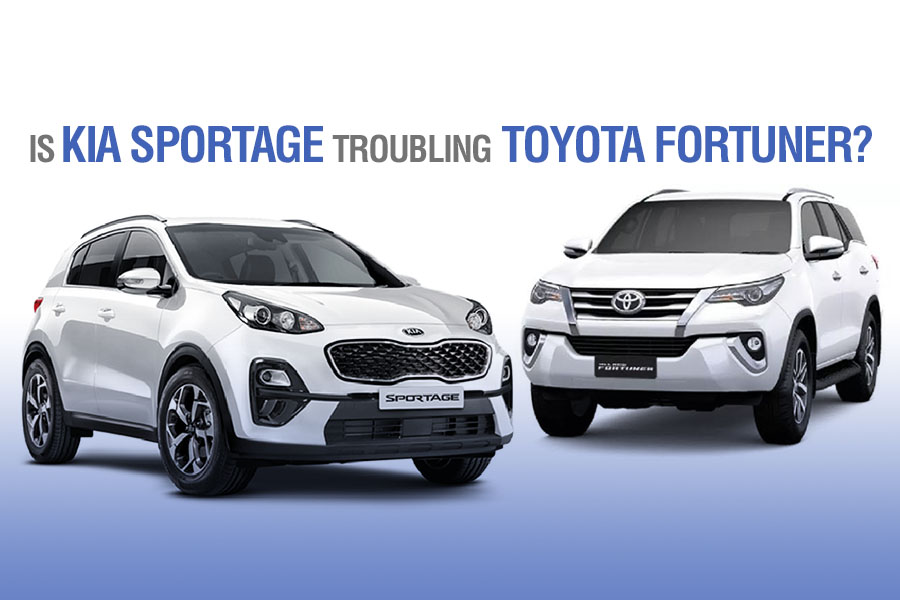 Is Kia Sportage Troubling Toyota Fortuner? 3