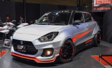 Suzuki Displays Swift Sport Katana Edition at Tokyo Auto Salon 3