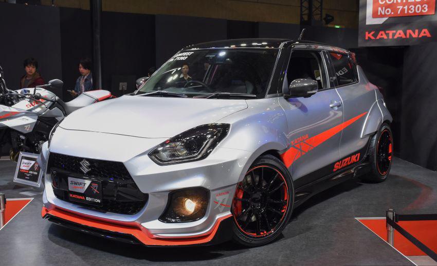 Suzuki Displays Swift Sport Katana Edition at Tokyo Auto Salon 10