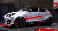 Suzuki Displays Swift Sport Katana Edition at Tokyo Auto Salon 5