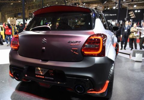 Suzuki Displays Swift Sport Katana Edition at Tokyo Auto Salon 7