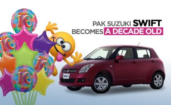 Pak Suzuki Swift Becomes a Decade Old 16
